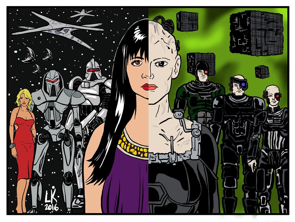 (Cylons vs Borg)